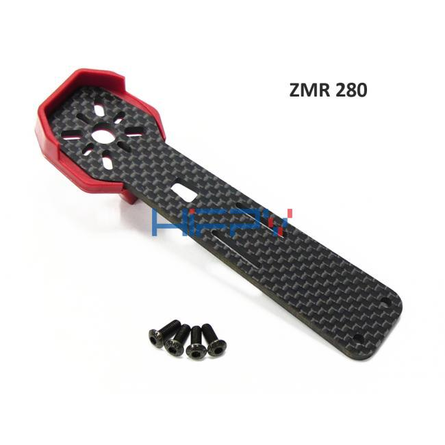ZMR280 Full Carbon Fiber 3mm Arm with Motor Protection Case