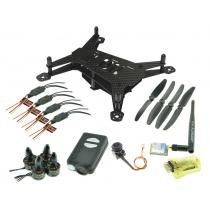 Mini200 Ultra Light Carbon Fiber 200mm Quadcopter Multicopter Frame Kits Mobius Vtx