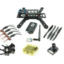 RC280 Ultra Light Carbon Fiber Quadcopter Multicopter Frame Set with Mobius and 5.8Ghz VTx