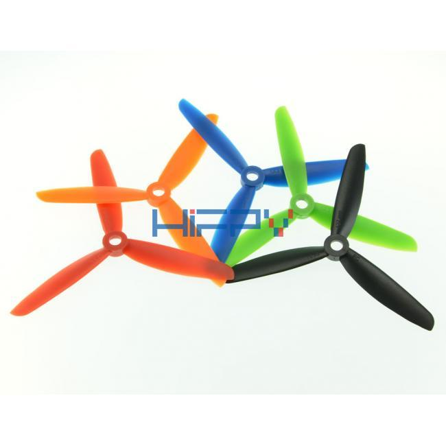 2 Pairs FC 5030 3-blade RC Multi-copter CW CCW Propeller