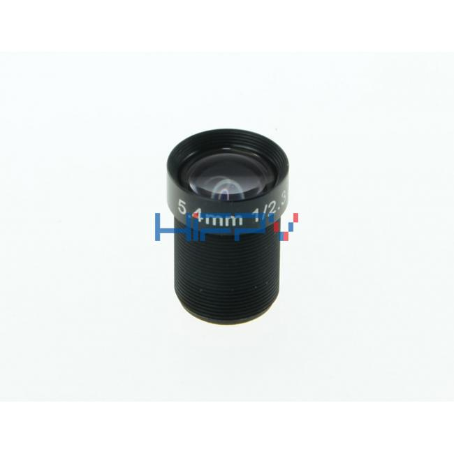 5.4mm 10 Megapixel Block Lens for GoPro Hero 3  and 4 M12 1/2.3 Inch