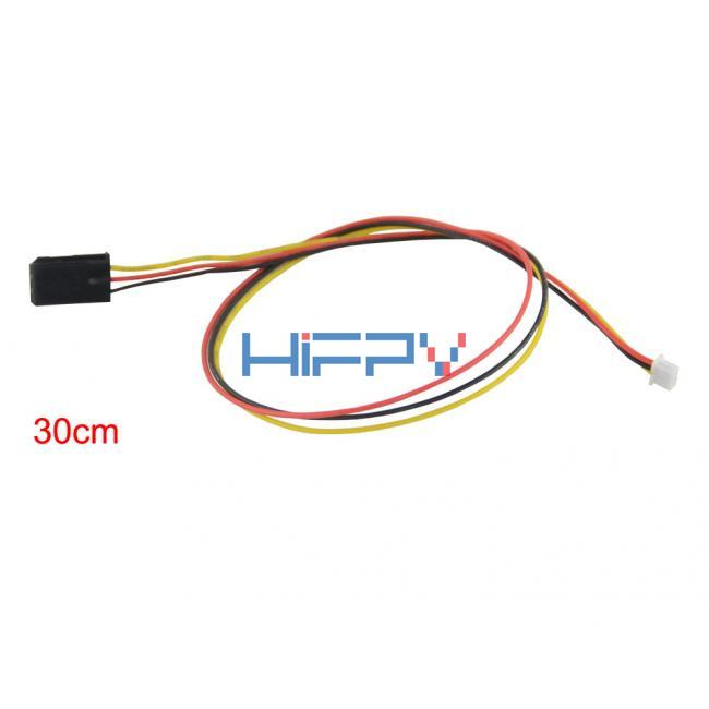 30cm Power Video 3pin 1.25mm to 2.54mm servo FPV cable