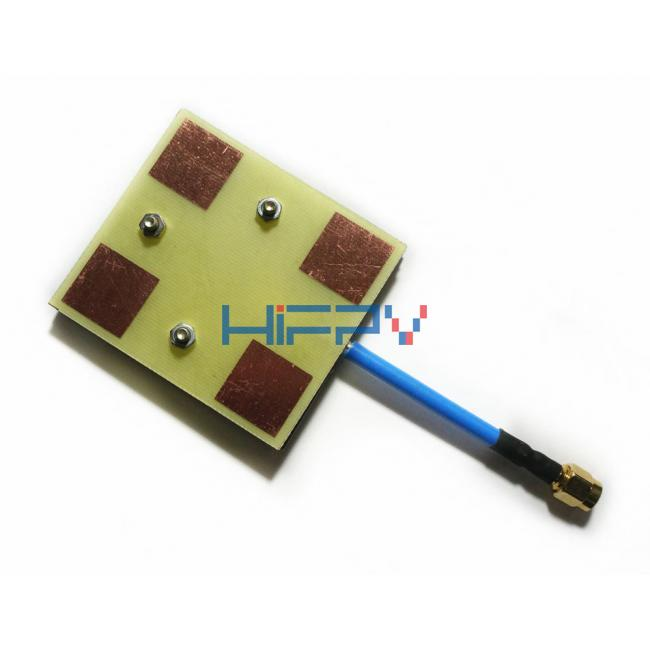 5.8Ghz 14dbi Ultra-light Rx Panel Antenna for Fixed-wing Multirotor SMA RPSMA