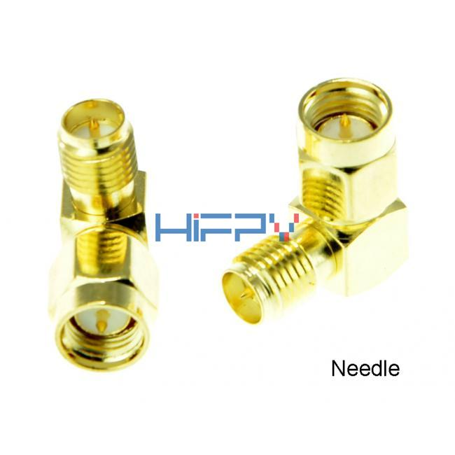 2pcs L Type Adapter for Antenna