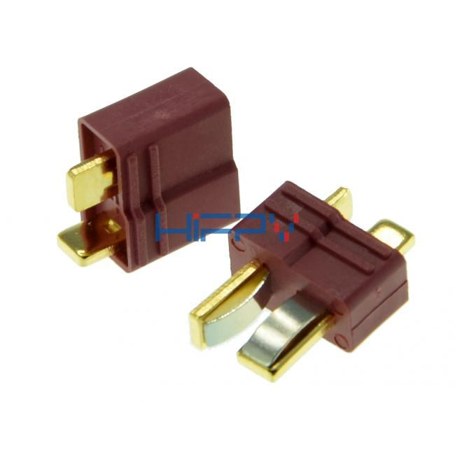 T Connectors Male/Female (1 pair)