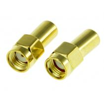 2pcs Dummy Load 1W watt male plug RF coaxial Termination loads