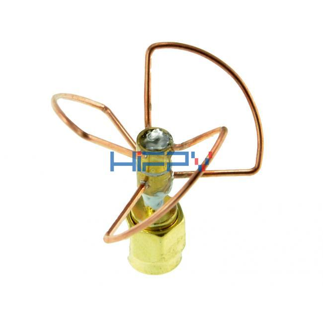 5.8GHz Circular Polarized VTx Antenna RHCP (Short)