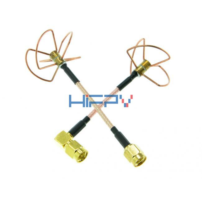 5.8G Circular Polarized RHCP Antenna SMA (Set)