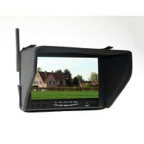 Boscam RC800 5.8G 32ch Wireless Receiver 7 inch FPV Monitor with DVR