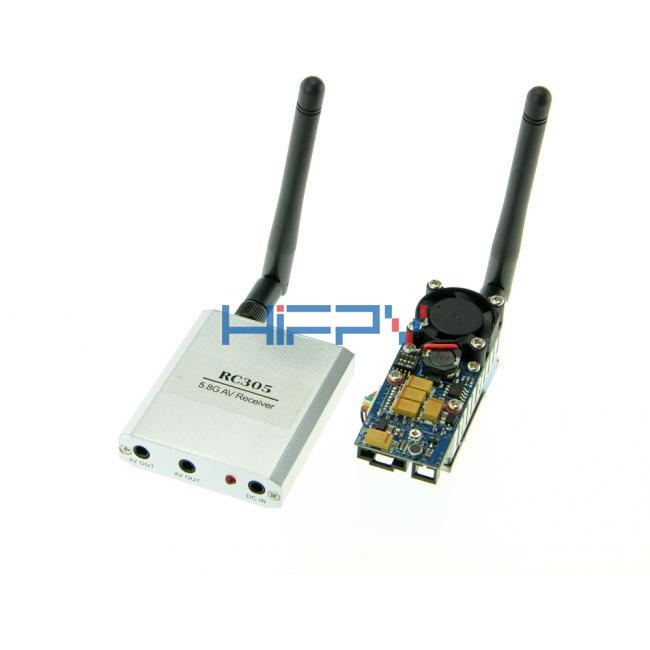 5.8G 8CH AV 2W Wireless Transmitter Receiver Set