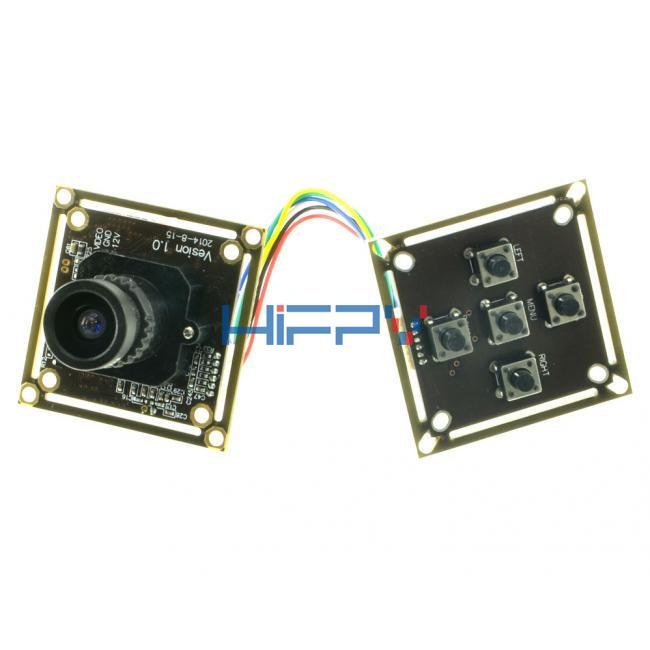 0.00008lux Star Super Low Light 800TVL 1/2 CMOS WDR FPV Night Fly Camera
