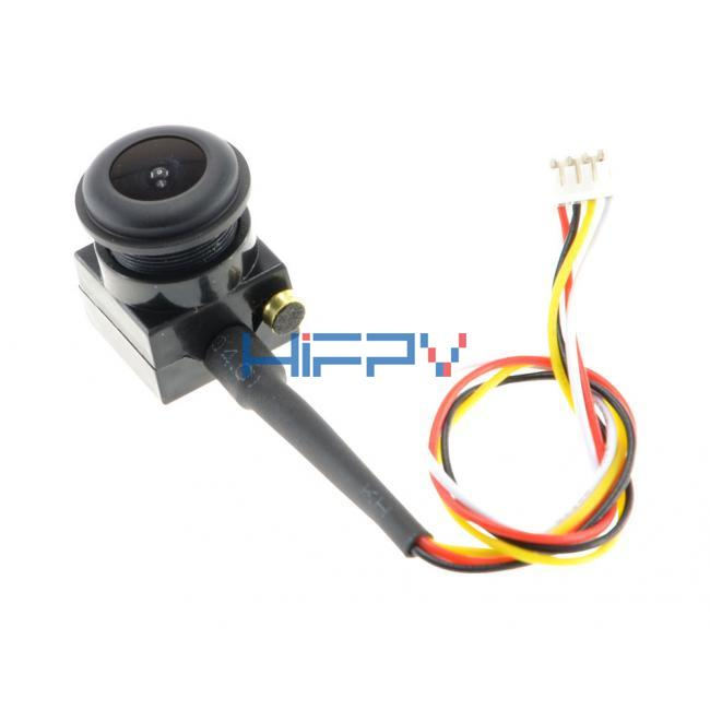 1S Battery 3.3~5V 600TVL 170 degree Angle Super Mini FPV Cased Camera MIC