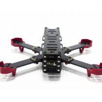 DALRC XR215 Full Carbon Fiber Quad Frame Kits for FPV Racing FPV Build in OSD BEC BB Ring