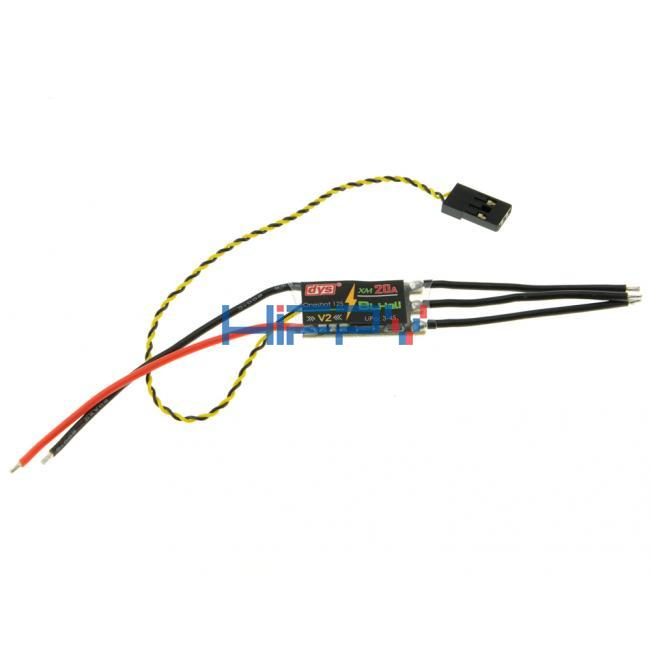 DYS XM20A Mini 20A ESC OPTO 2-4s for QAV160 180 250 300 330 Frames