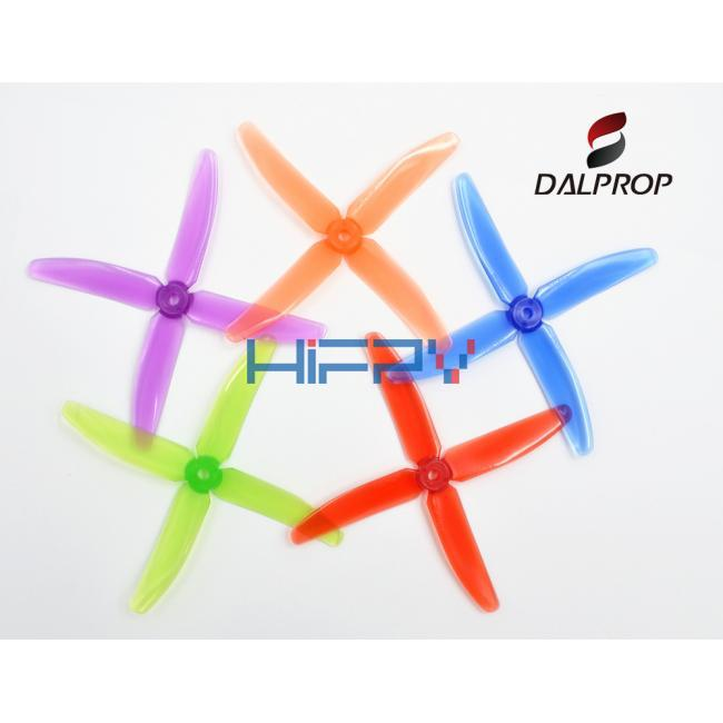 DALPROP Q5040 Quad-blades Crystal Color Props for Racing