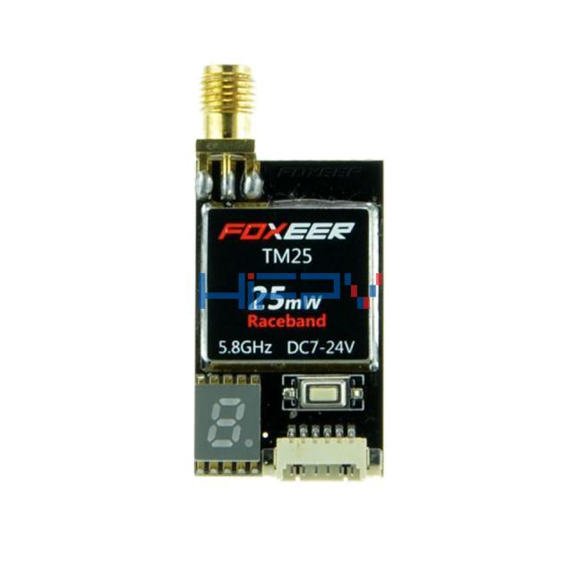 Foxeer TM25 25mW 5.8G 40CH Mini VTX with Race Band